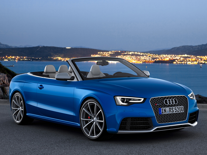 Audi RS Cabriolet фото