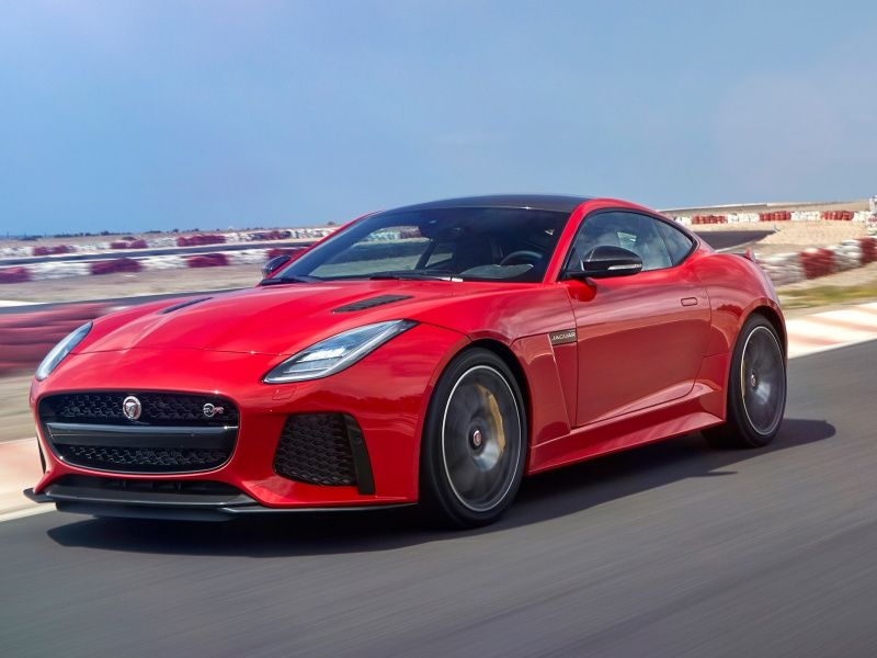 Jaguar F-Type Coupe фото автомобиля