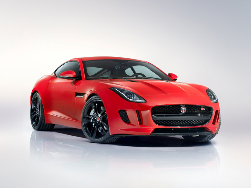 Jaguar F-Type Coupe 2013 года фото автомобиля