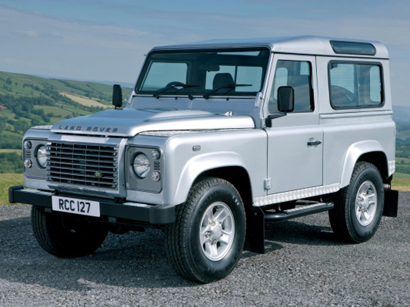Land Rover Defender 90 фото