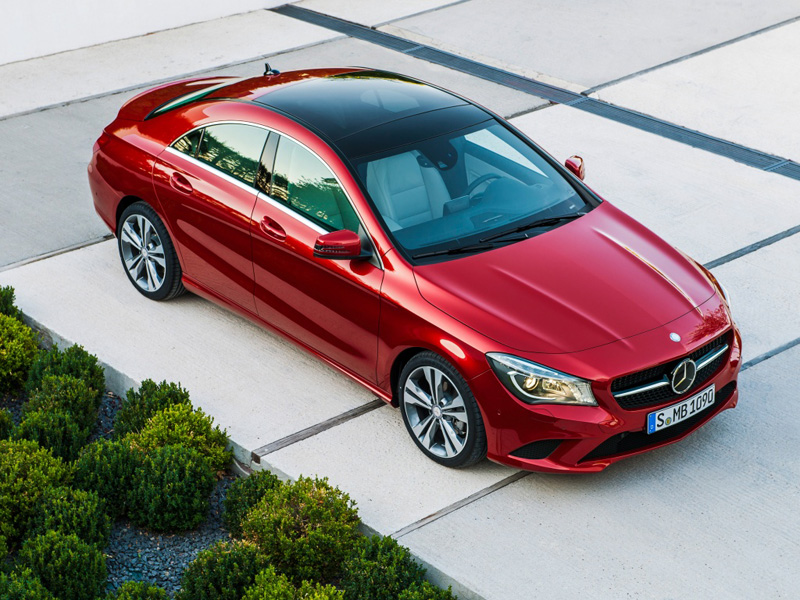 Mercedes-Benz CLA 2013 года фото автомобиля