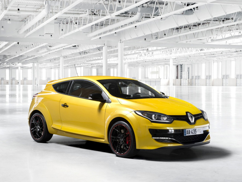 Renault Megane coupe фото